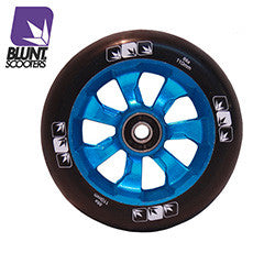 Blunt 7 spokes 110mm - Blue black