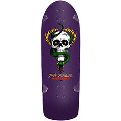 Powell Peralta Bones Brigade® Mike McGill Skull & Snake Reissue Deck Purple