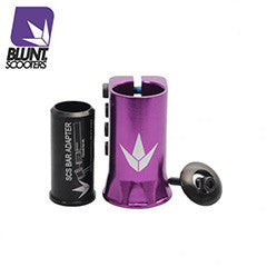 Blunt H-clamp SCS - Purple