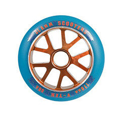 Slamm V-10 wheels orange