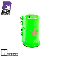 Blunt H clamp - green