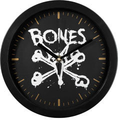 BONES WHEELS VATO WALL CLOCK