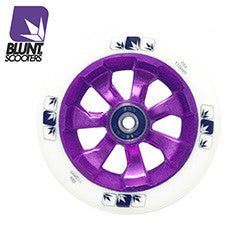 Blunt 7 spokes 110mm - Purple white