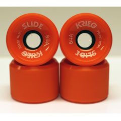 Krieg longboard wheels dull surface orange