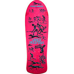 Powell Peralta Bones Brigade® Lance Mountain Future Primitive Reissue Deck Pink
