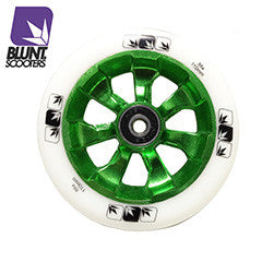 Blunt 7 spokes 110mm - Green white
