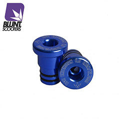 Blunt bar extensions blue