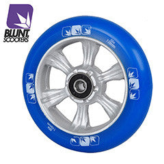 Blunt 6 spokes 110mm Blue