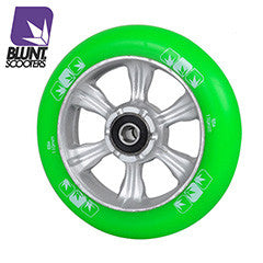 Blunt 6 spokes 110mm Green