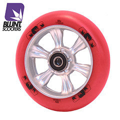Blunt 6 spokes 110mm Red