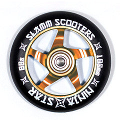 Slamm Wheels Ninja Star - Orange