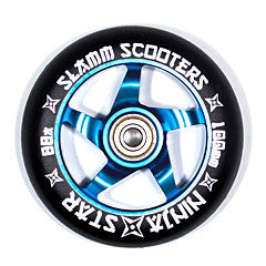 Slamm Wheels Ninja Star - Blue