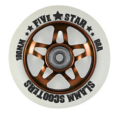 Slamm Wheels 5 Star - Orange