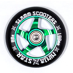 Slamm Wheels Ninja Star - Green