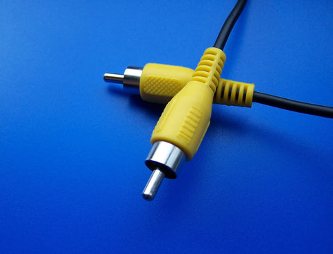 Composite Video RCA Plug Yellow