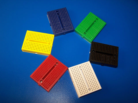 Mini Colourful Breadboard 170 points