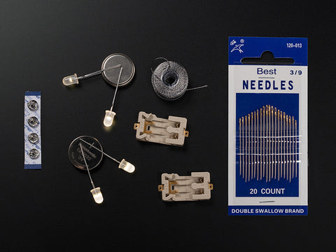 Adafruit Beginner LED Sewing Kit