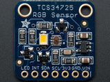 Adafruit RGB Colour Sensor with IR filter and White LED - TCS34725 - 1334