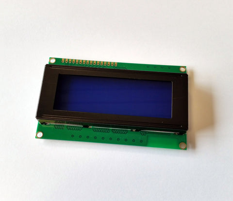 HD44780 LCD 20x4 Character Blue Backlit Display