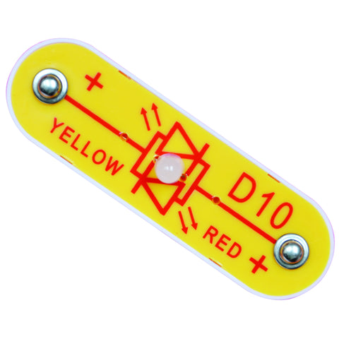 Red/Yellow bicolor LED - 6SCD10