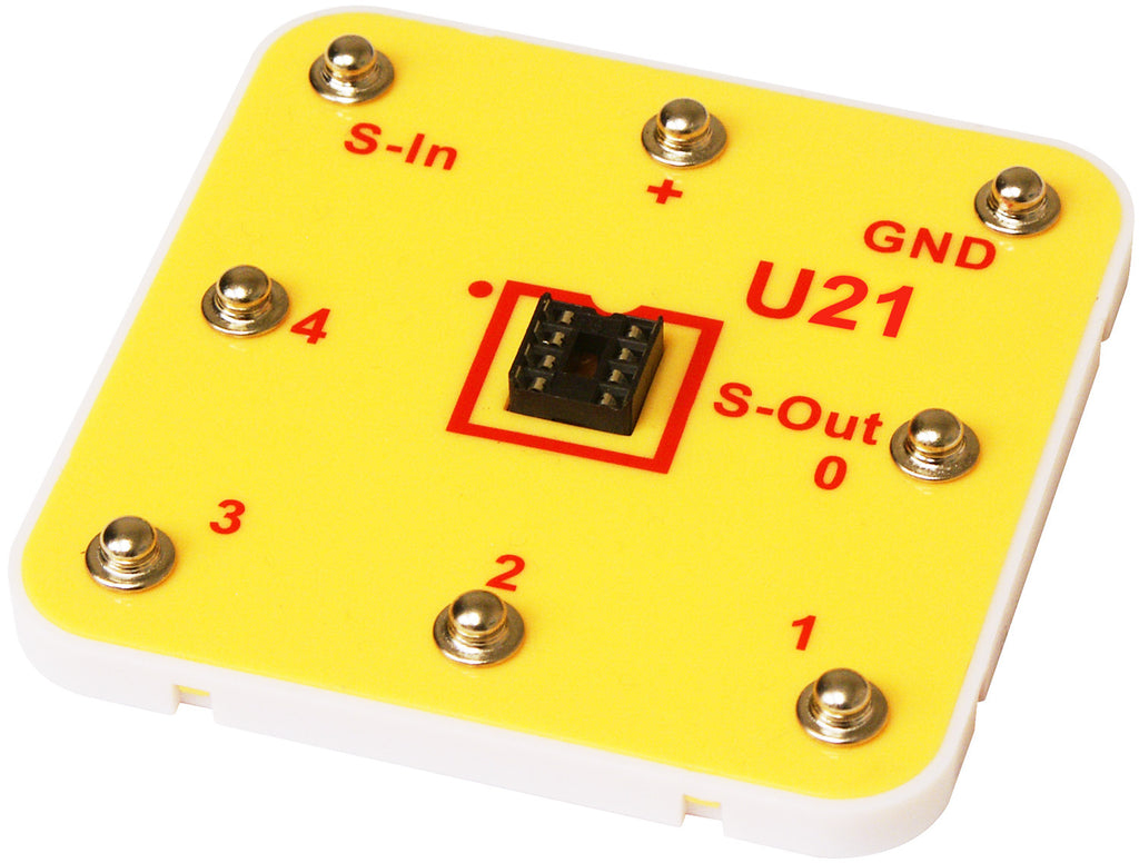 U21 8-pin Socket w/ Micro Marking - 6SCU21S