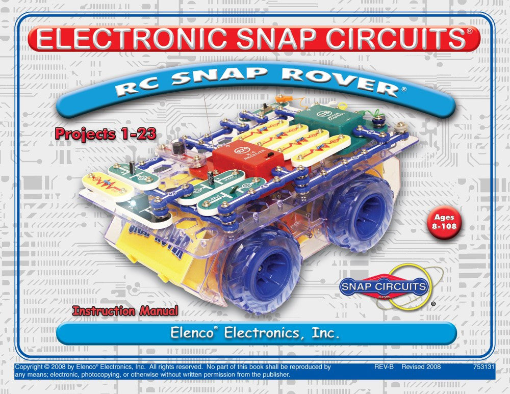 R/C Snap Rover® Manual - 753131
