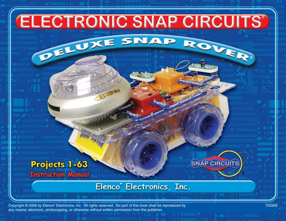 Deluxe Snap Rover® Manual - 753305