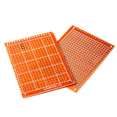 Single Sided Prototyping PCB 5x7cm