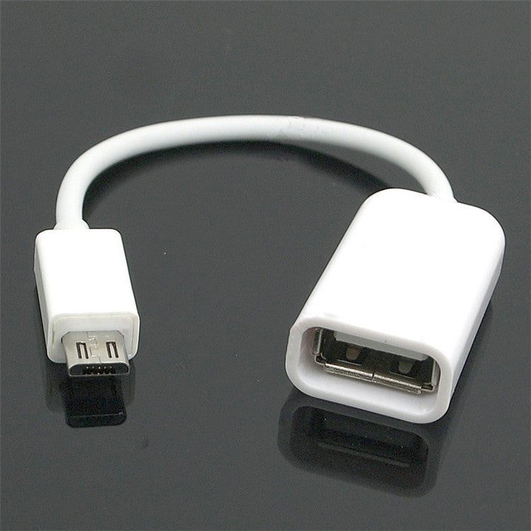 USB A to MicroUSB Converter 10cm