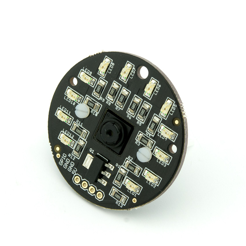 LISIPAROI LED Light Ring/Flash for Raspberry Pi Camera