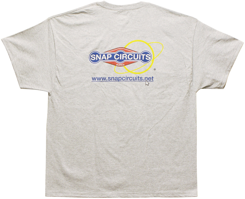 Adult T-shirt Gray Medium - 6T1SHIRTM