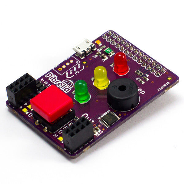 Pibrella - Easily Add Electronics to your Raspberry Pi