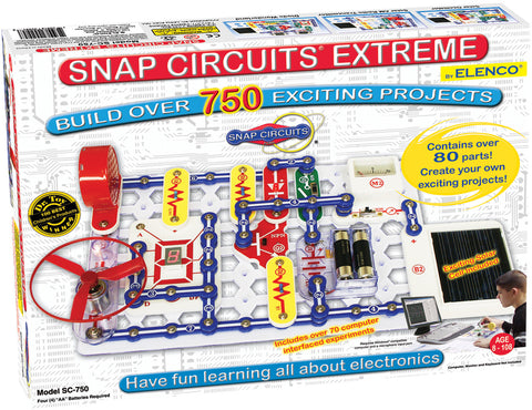 SC-750 Snap Circuits Extreme© (Now 760) Experiments
