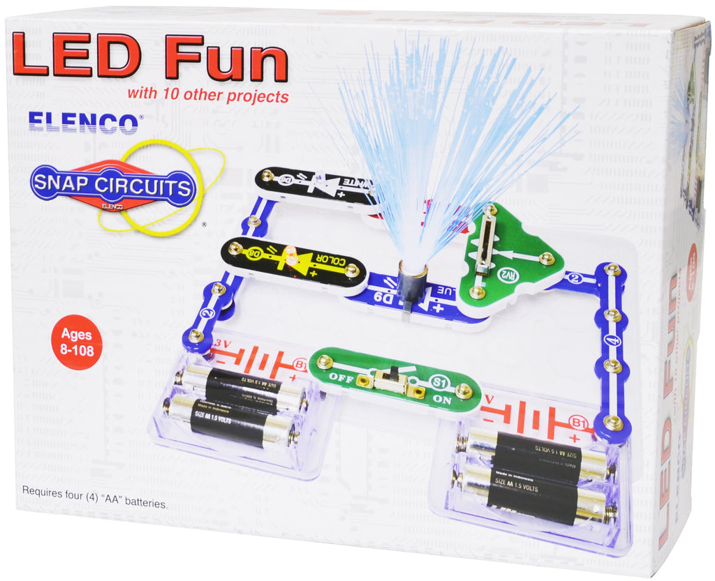 Snap Circuits Cyntech Arcade Out Of The Blue Toys Led Fun