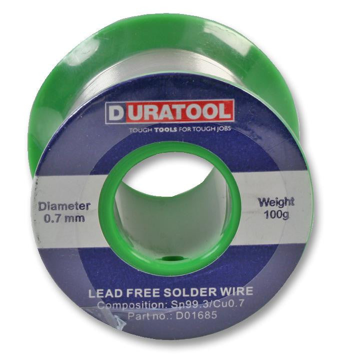 Solder Wire Lead Free - 0.7mm 100g