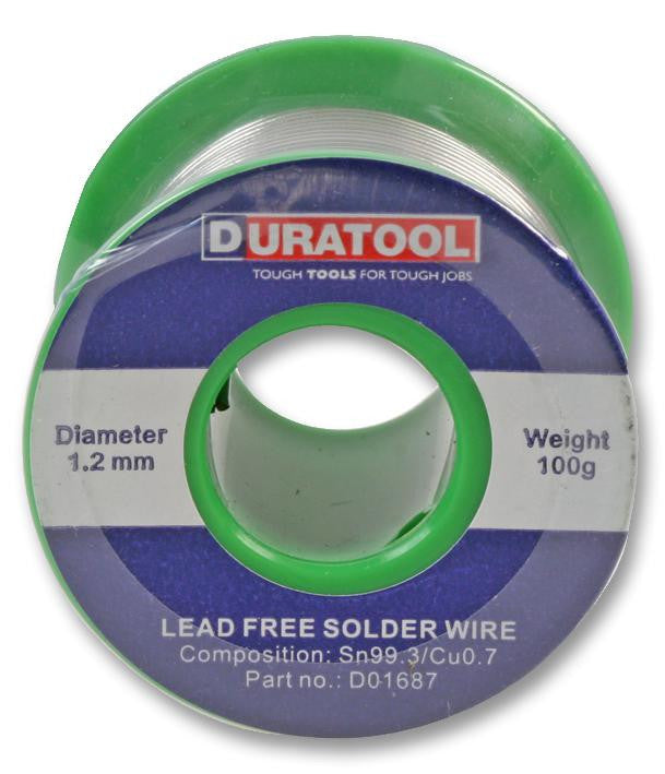 Solder Wire Lead Free - 1.2mm 100g