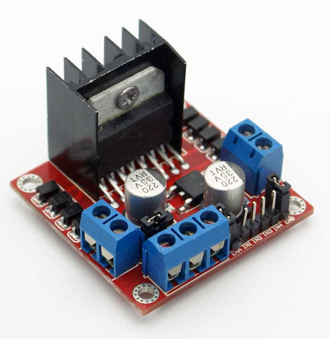 L298N High Power Dual Motor Controller