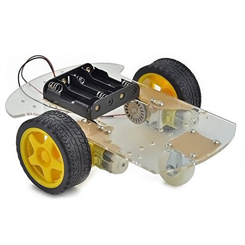 Robotic 2 Wheel Drive Car Chassis