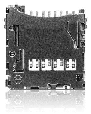 Yamaichi PJS MicroSD Card Connector - Push / Push (Top Mount) - 2130