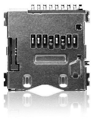 Yamaichi PJS MicroSD Card Connector - Push / Push (Reversed Type)