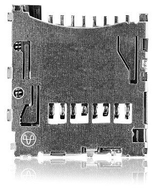 Yamaichi PJS MicroSD Card Connector - Push / Push (Top Mount) - 2120