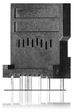 Yamaichi PJS MicroSD Card Connector - Manual Type (Vertical Mount)