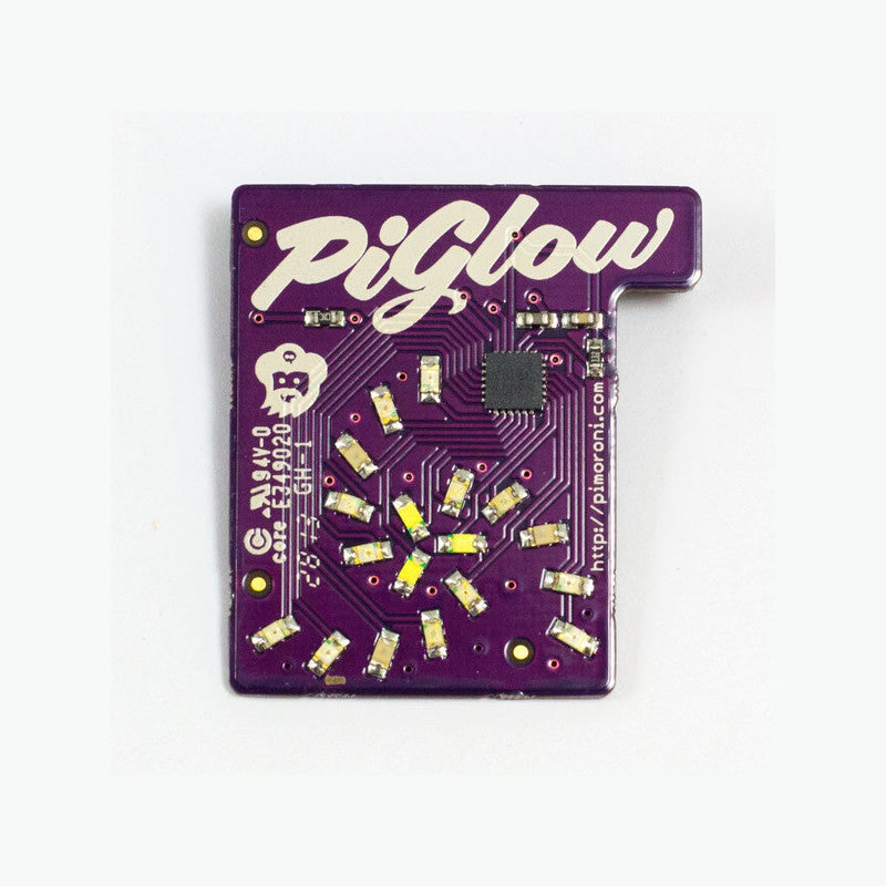 PiGlow - LED Add-On Board for Raspberry Pi