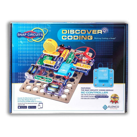 Snap Circuits Discover Coding SCD303