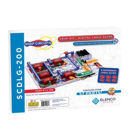 Snap Circuits® Logic Gates and Circuits SCDLG200