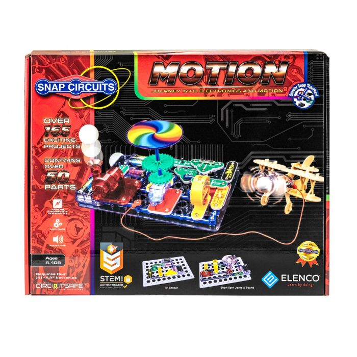 Snap Circuits Motion (SCM-165)
