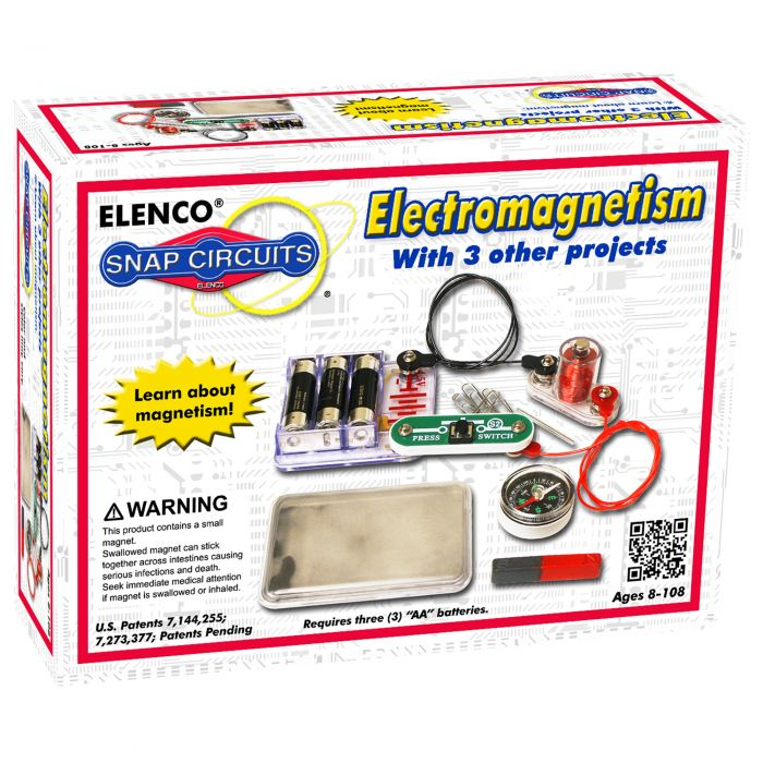 Snap Circuits® Electromagnetism SCP08