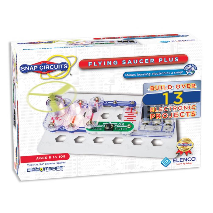 Snap Circuits® Flying Saucer Plus SCP09