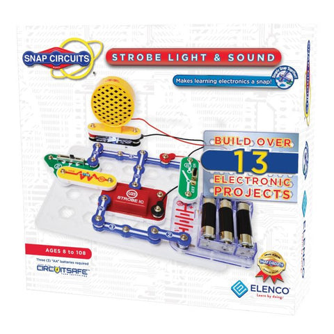 Snap Circuits® Strobe Light and Sound SCP14