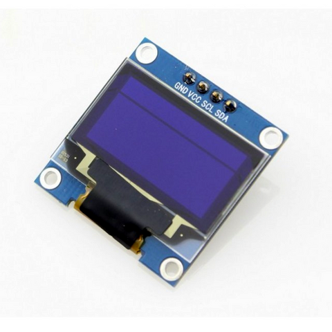 OLED Display Module - Yellow and Blue 128x64